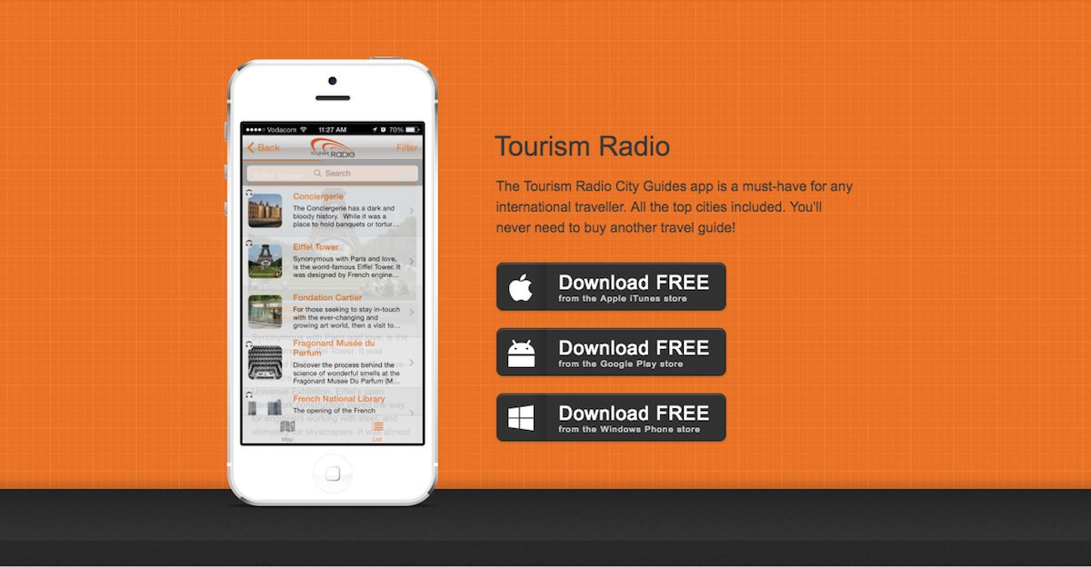 Top Locally Made Travel Apps | Torism Radio City Guides | Hippo.co.za