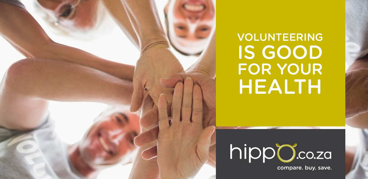 Volunteering is Good For Your Health | Medical Aid | Hippo.co.za