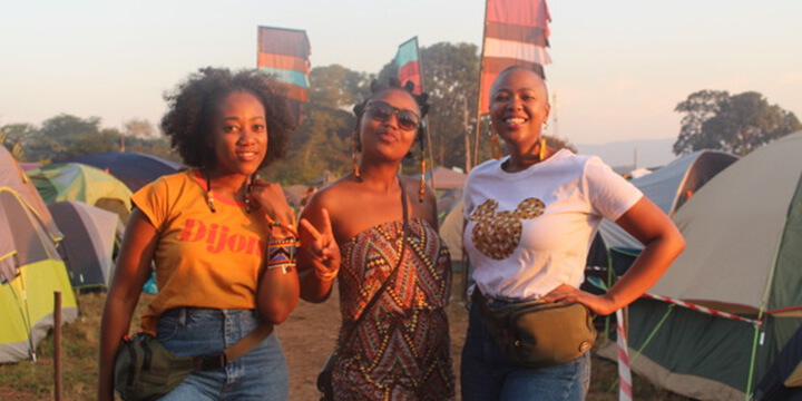 "Thobeka ""Thobi"" Rose experiences camping with her girls"