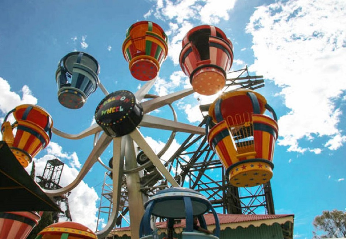 Gold Reef City Rides