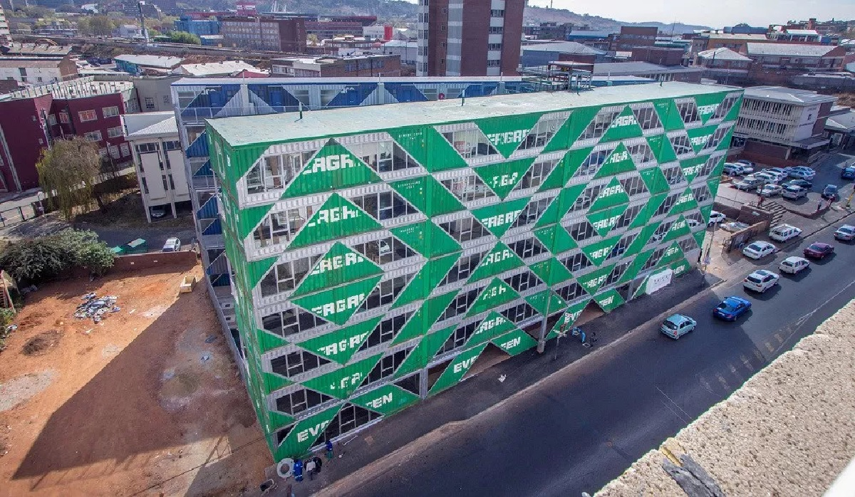 Johannesburg's New Container Homes Open in Maboneng | Household Insurance | Hippo.co.za